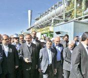 افتتاح سوم تولید آهن اسفنجی فولاد نی ریز به روش پرد