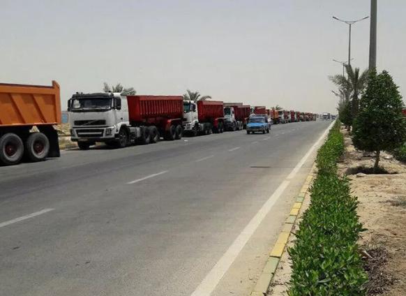 تاثیر اعتصاب کامیونداران بر فولاد