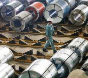 رشد تولید فولاد چین
