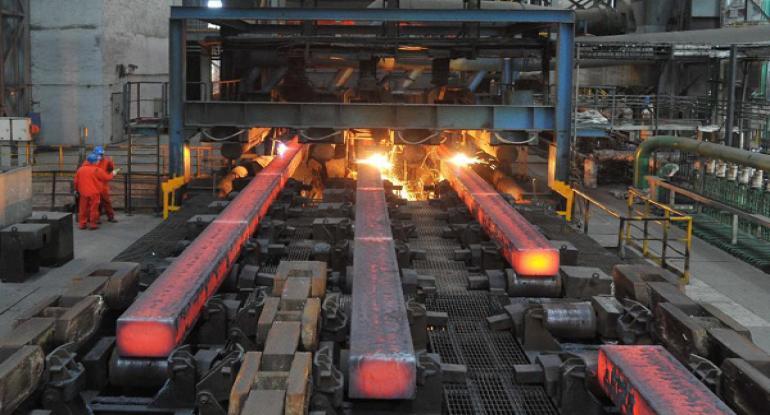 سرعت رشد تقاضای جهانی فولاد کمتر می شود.