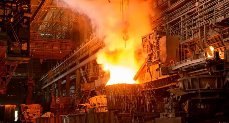 تولید فولاد ایران و جهان افزایش یافت